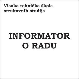 Informator o radu VTS 2016