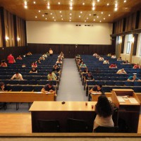 Polaganje ispita (veliki amfiteatar)