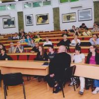 Predavanje o robotici, profesor Steffano Miani sa Unverziteta iz Udina (Italija)